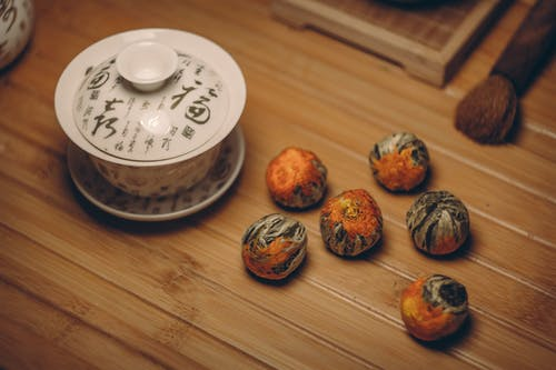 Základová fotografie zdarma na téma čaj, dřevěný, kartáček, keramika