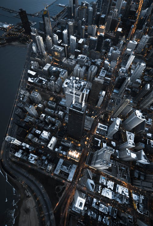 Bird's-eye View Photography of High Rise Buildings