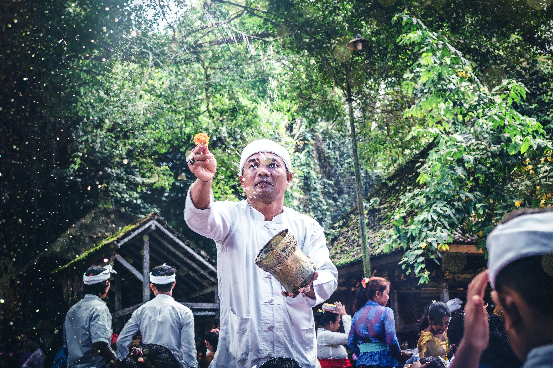 Kostenloses Stock Foto zu anbetung, asien: menschen, aufführung, bali