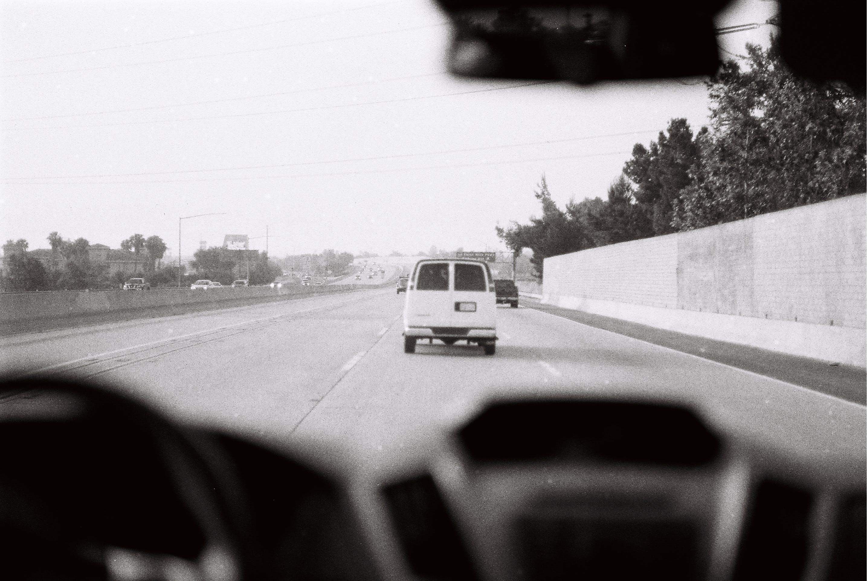 Gratis lagerfoto af kørsel, motorvej