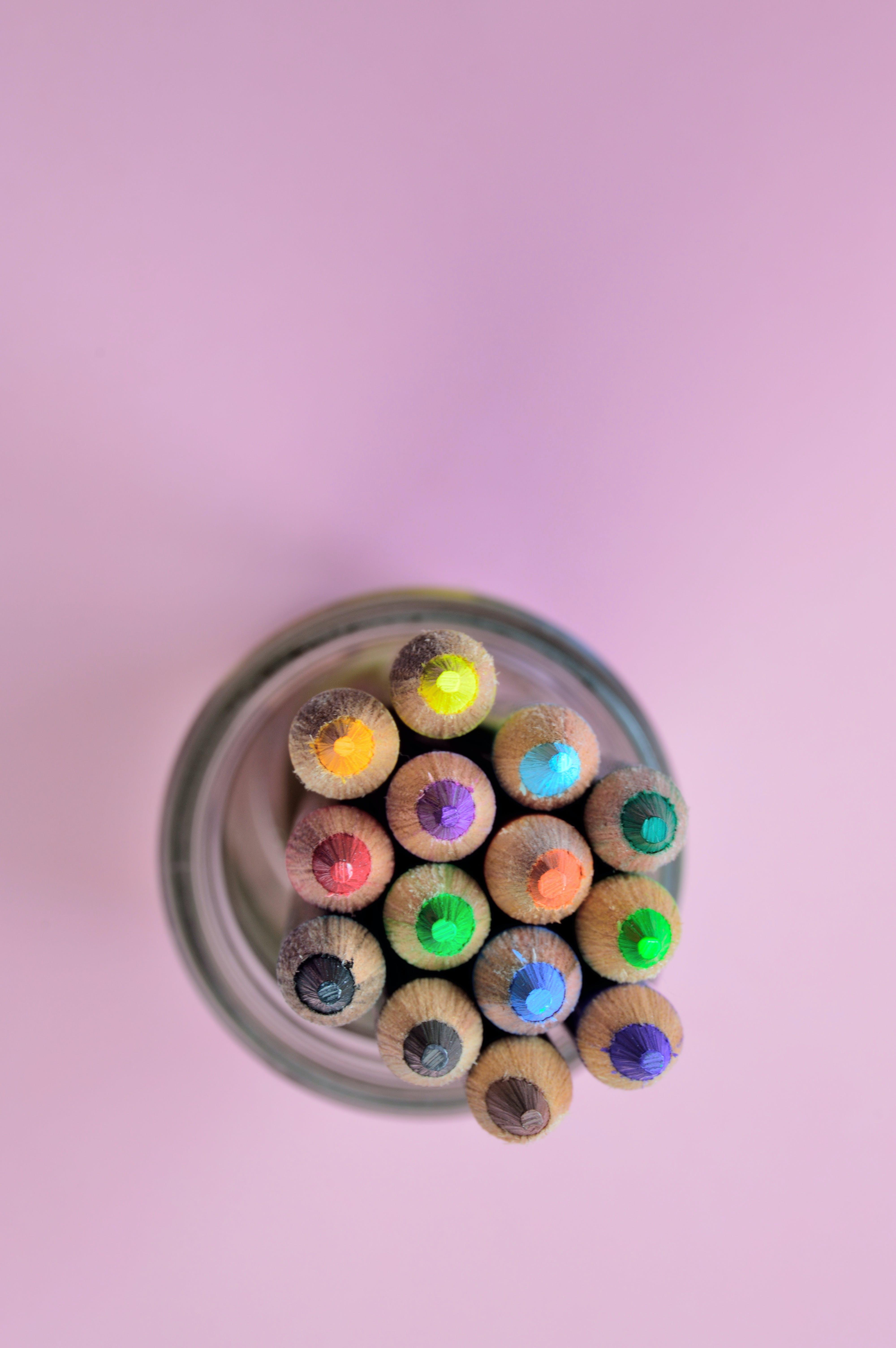 Kostenloses Stock Foto zu bleistift, bleistifte, bunt, farbe
