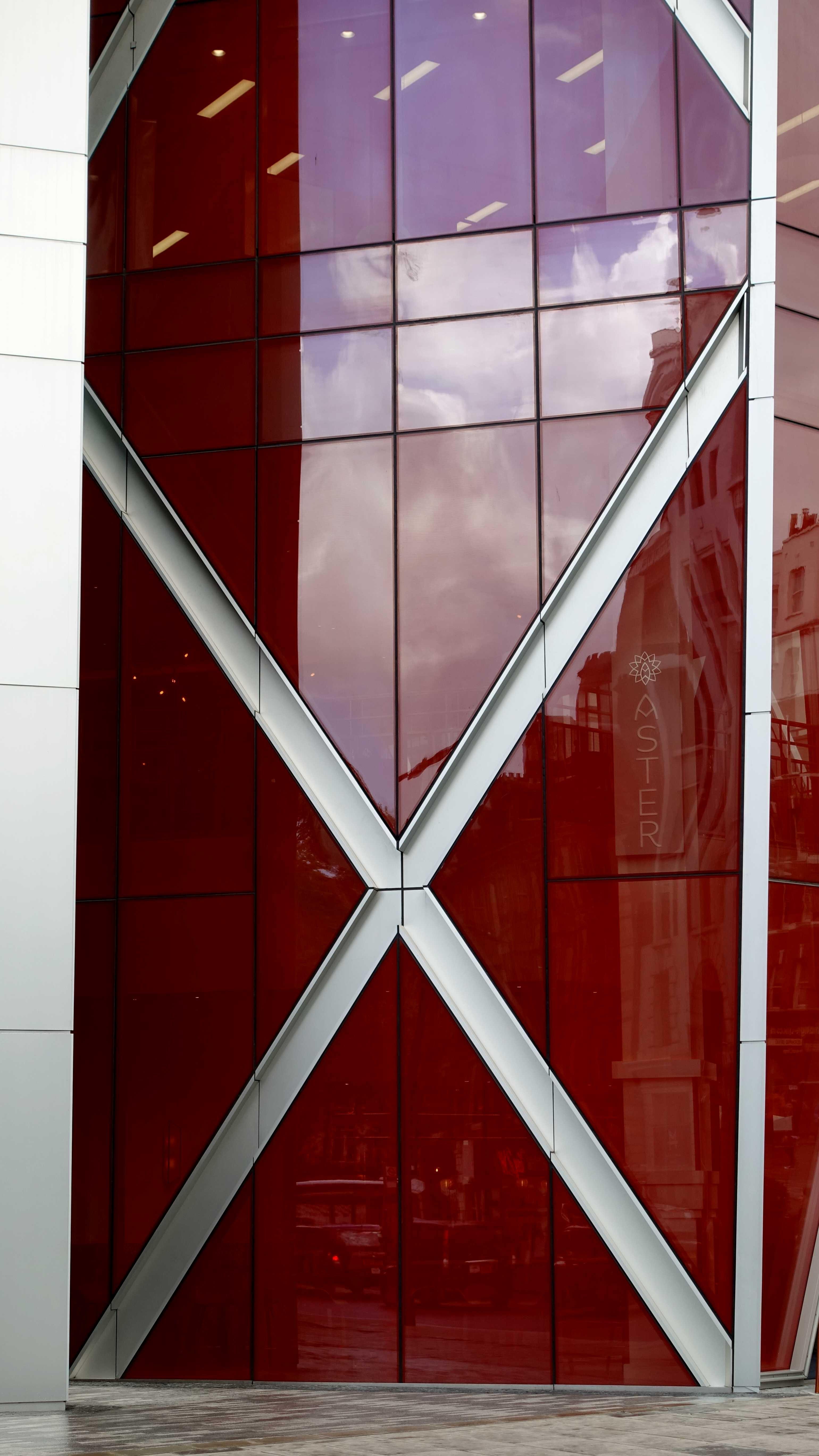 Free stock photo of modern architecture, red, silver, skyscraper