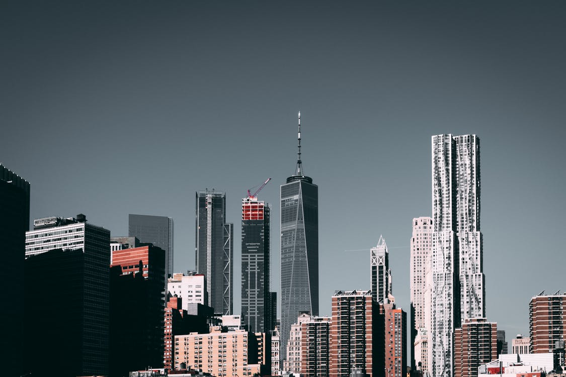 View of New York City Buildings