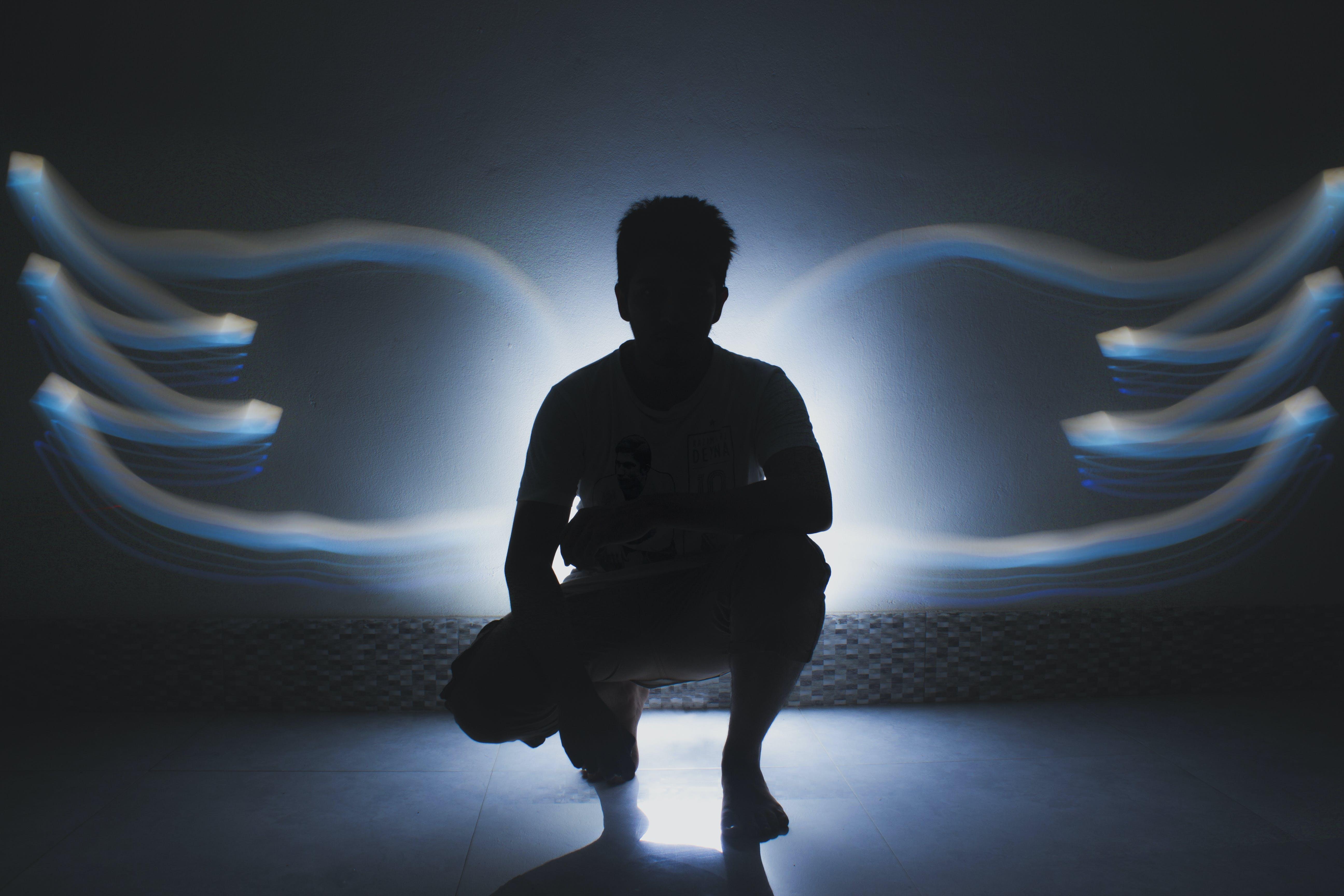 Gratis lagerfoto af Dreng, fotografi, lightpainting, vinkel