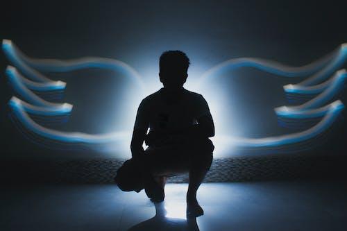 Imagine de stoc gratuită din băiat, fotografie, lightpainting, unghi