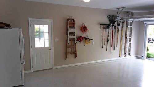 Free stock photo of Garage Floor Painted