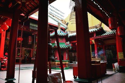 Foto profissional grátis de arquitetura chinesa, chinatown, chinês, templo