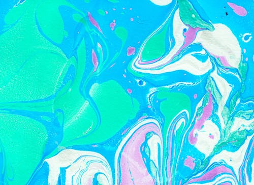 Foto profissional grátis de abstrair, arte, azul, bolinhas de gude
