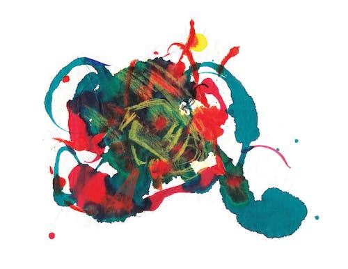 Foto profissional grátis de abstrair, arte, formas geométricas, lápis de cor