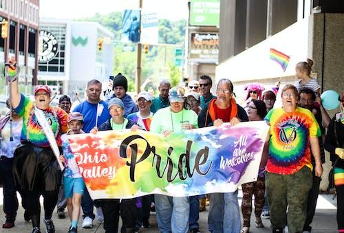 Fotobanka sbezplatnými fotkami na tému chôdza, dav ľudí, gay pride-h, LGBT-h
