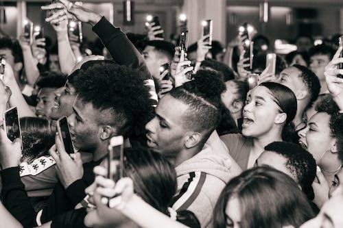 Základová fotografie zdarma na téma dav, denní světlo, dospělí, fanoušci