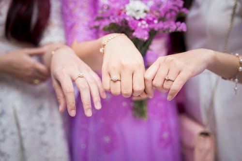 가족, 결혼, 결혼 반지, 낭만적인의 무료 스톡 사진