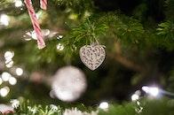 heart, decoration, christmas