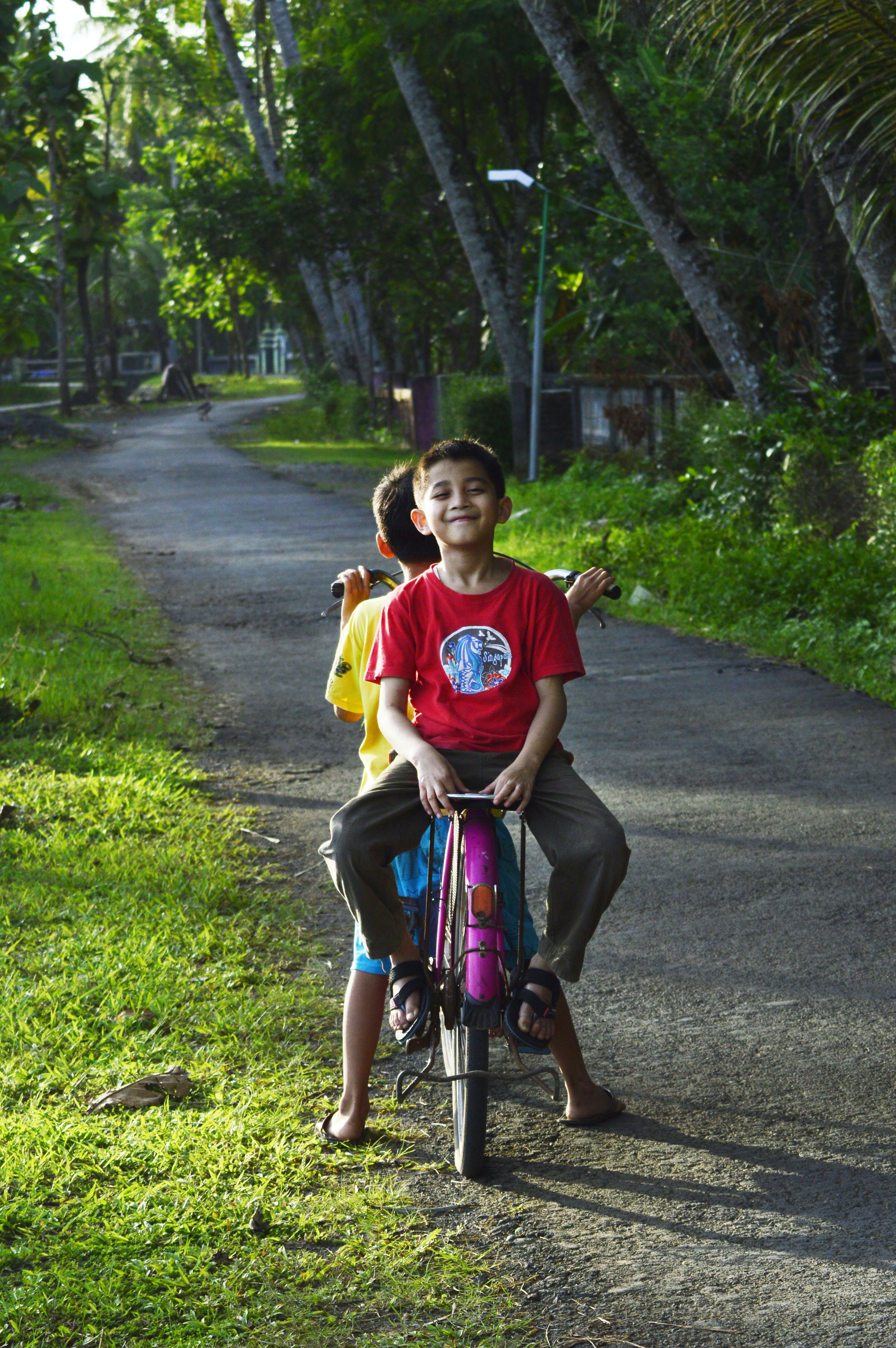 Kostenloses Stock Foto zu draußen, entspannung, erholung, fahrrad