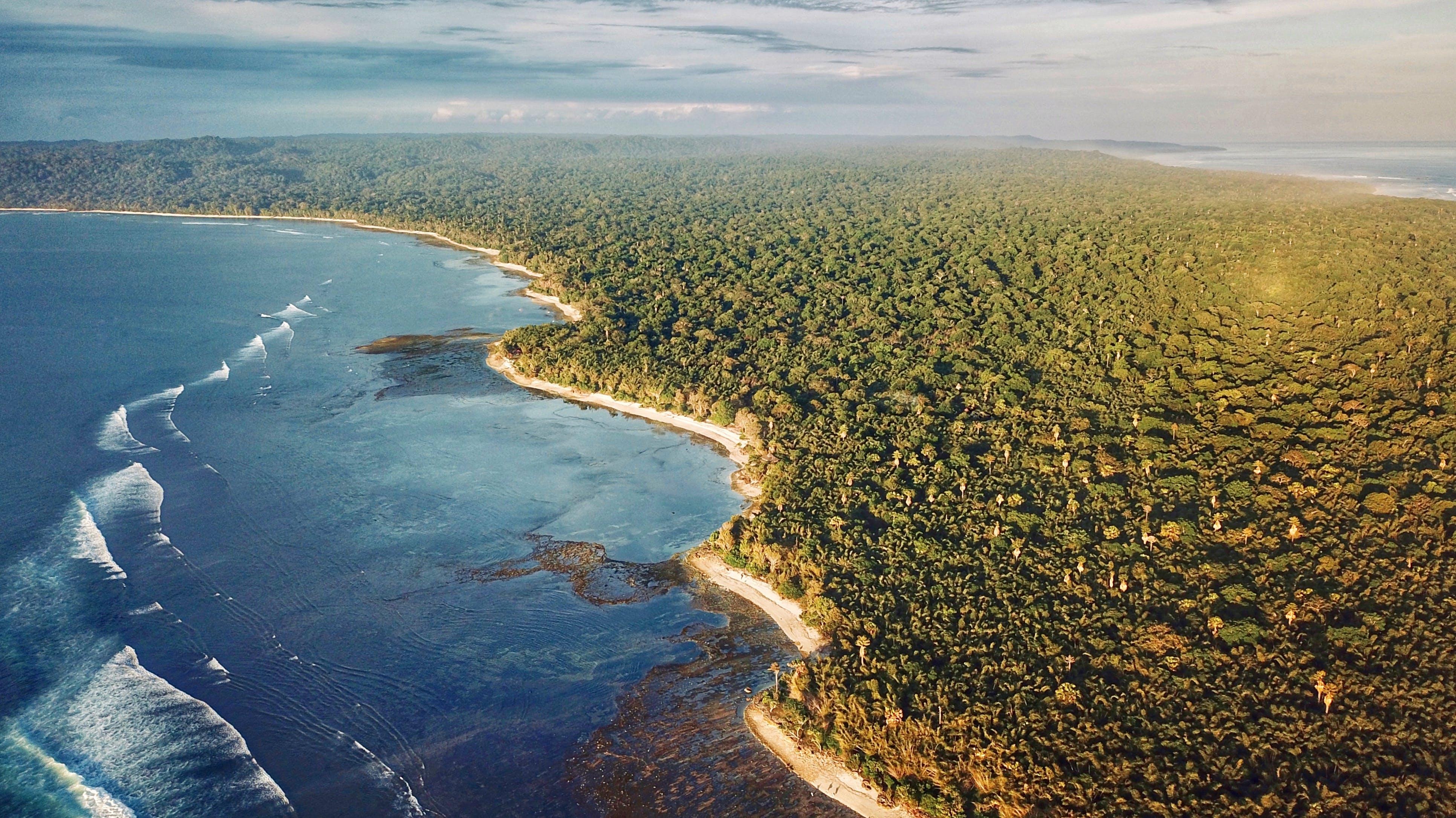 Gratis lagerfoto af bølger, dronefotografering, hav, havudsigt