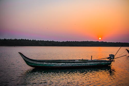 Free stock photo of beach, boat, india, nature