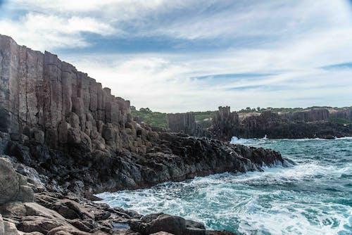 Foto d'estoc gratuïta de acomiadar-se, aigua, cel blau, mar