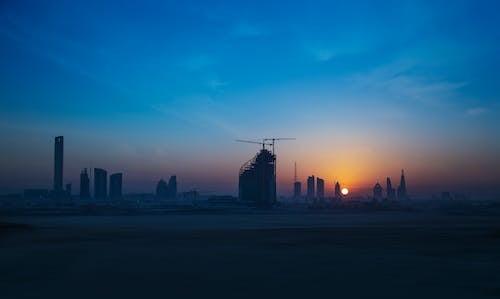 가벼운, 건물, 건축, 골든 아워의 무료 스톡 사진