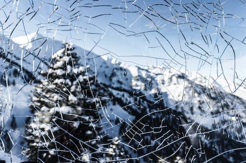 คลังภาพถ่ายฟรี ของ กระจก, ภูเขา, ภูเขาหิมะ, วัน
