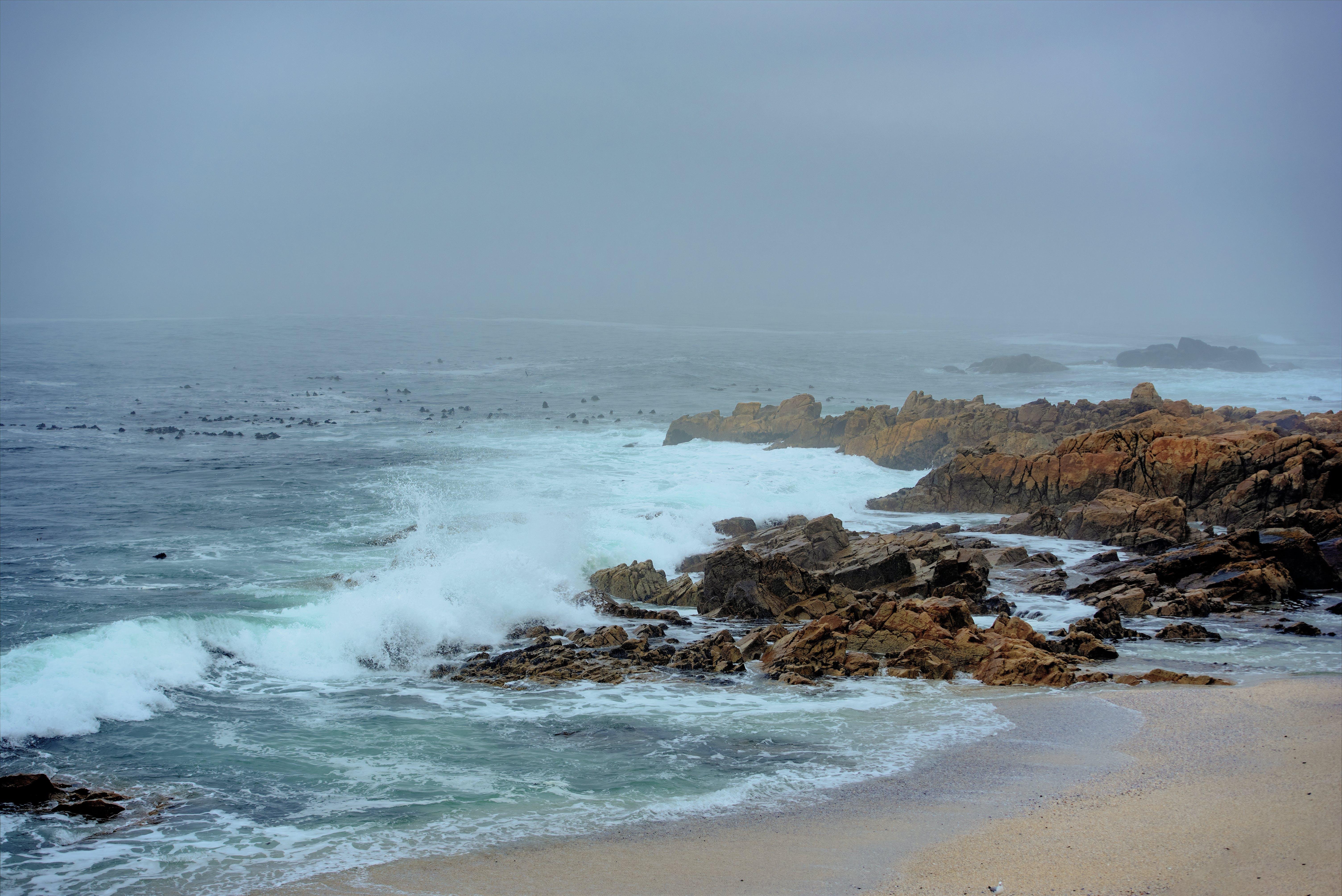 Gratis lagerfoto af atlanterhavet, blå hav, kystnært, strand