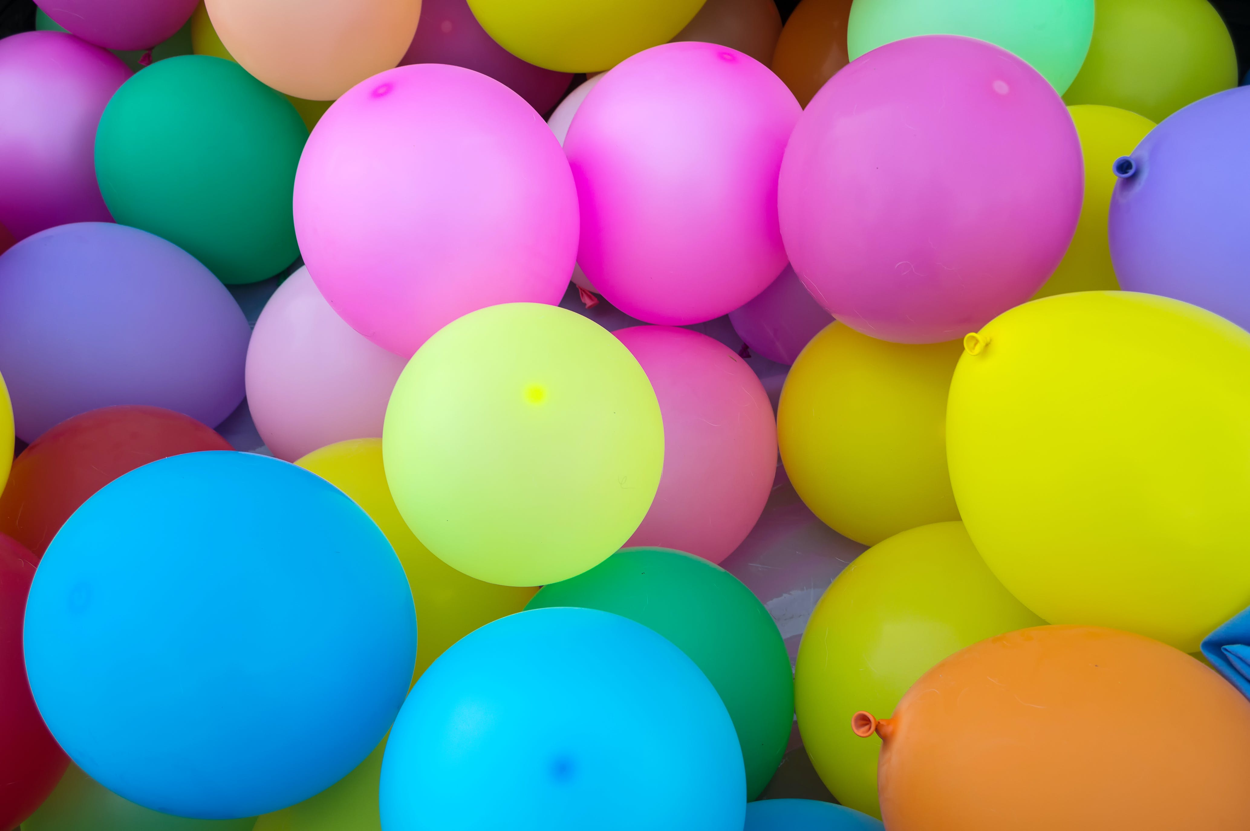 Free stock photo of party, colors, balloons, children
