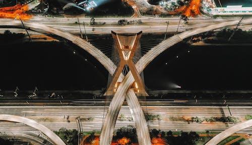 基礎設施, 建築, 從上面, 橋 的 免费素材照片