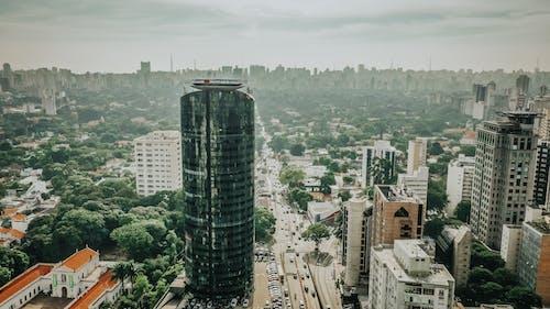 Δωρεάν στοκ φωτογραφιών με αρχιτεκτονική, αστικός, εναέρια λήψη, κέντρο πόλης