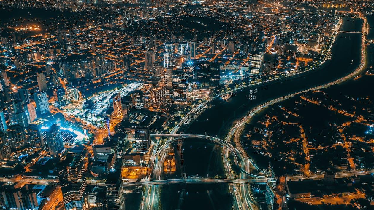αεροφωτογράφιση, αρχιτεκτονική, αστικός