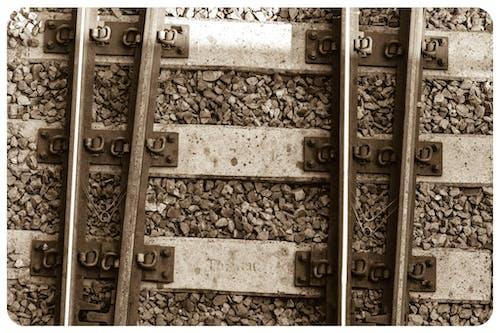 Free stock photo of railway lines
