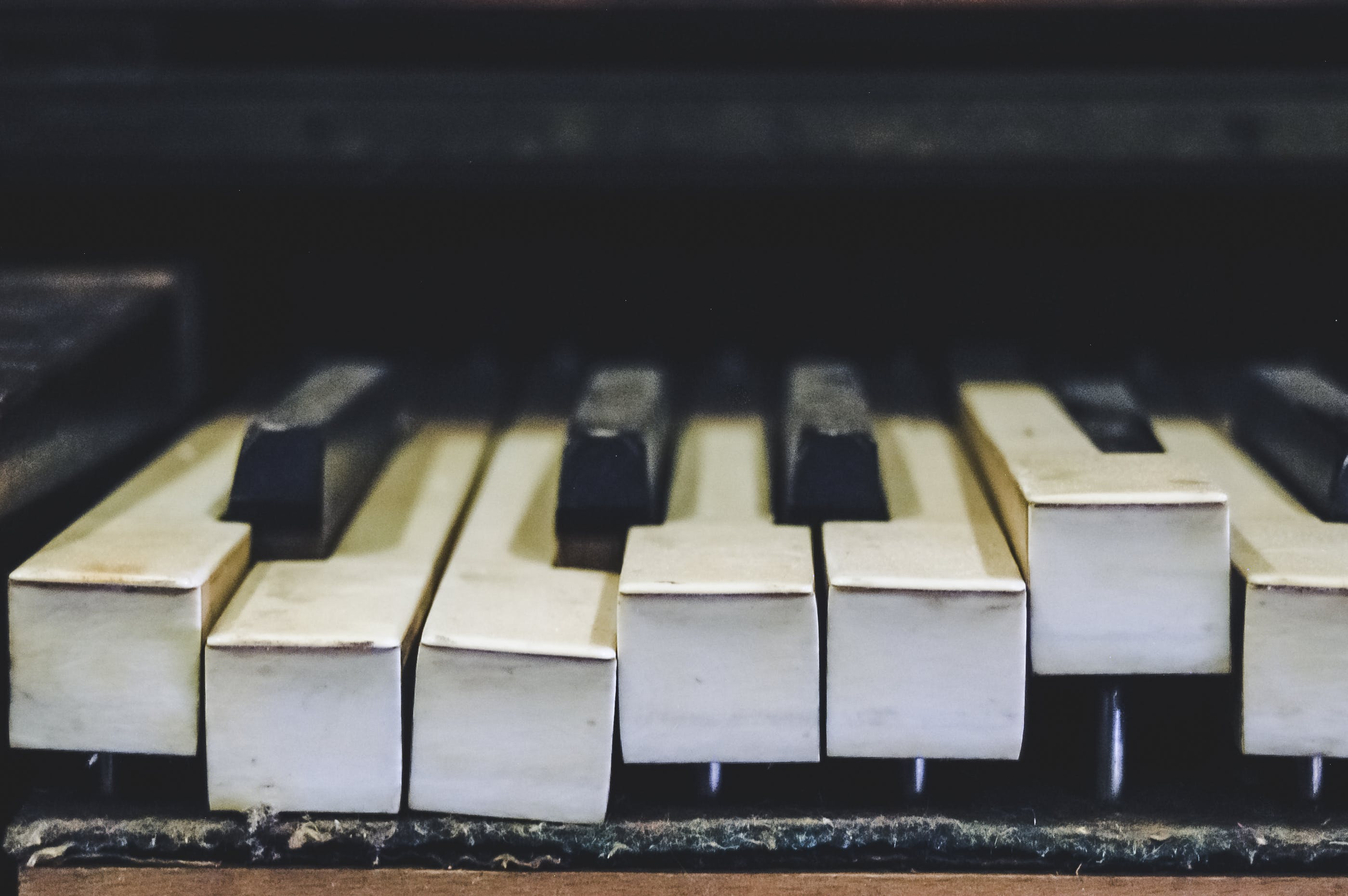 Foto d'estoc gratuïta de instrument musical, primer pla, teclat, tecles de piano