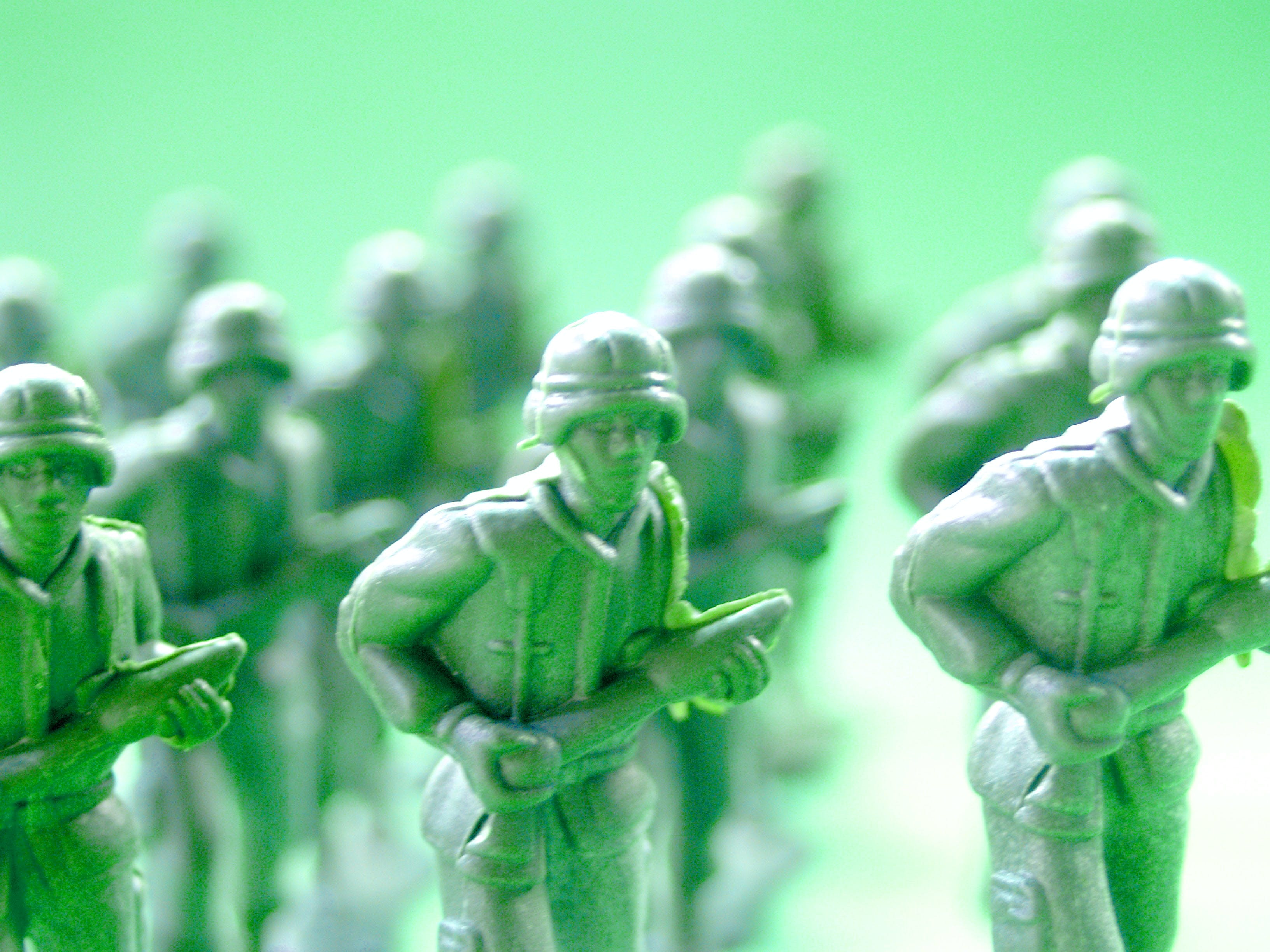 Soldier Toy Selective Focus Photography