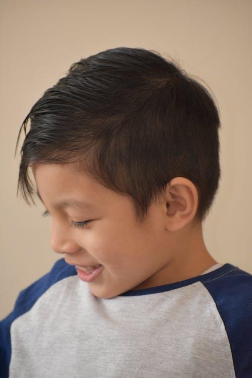 미소, 소년, 유아의 무료 스톡 사진