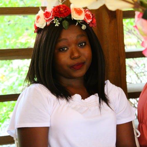 Free stock photo of african american girl, beautiful flowers, black girls