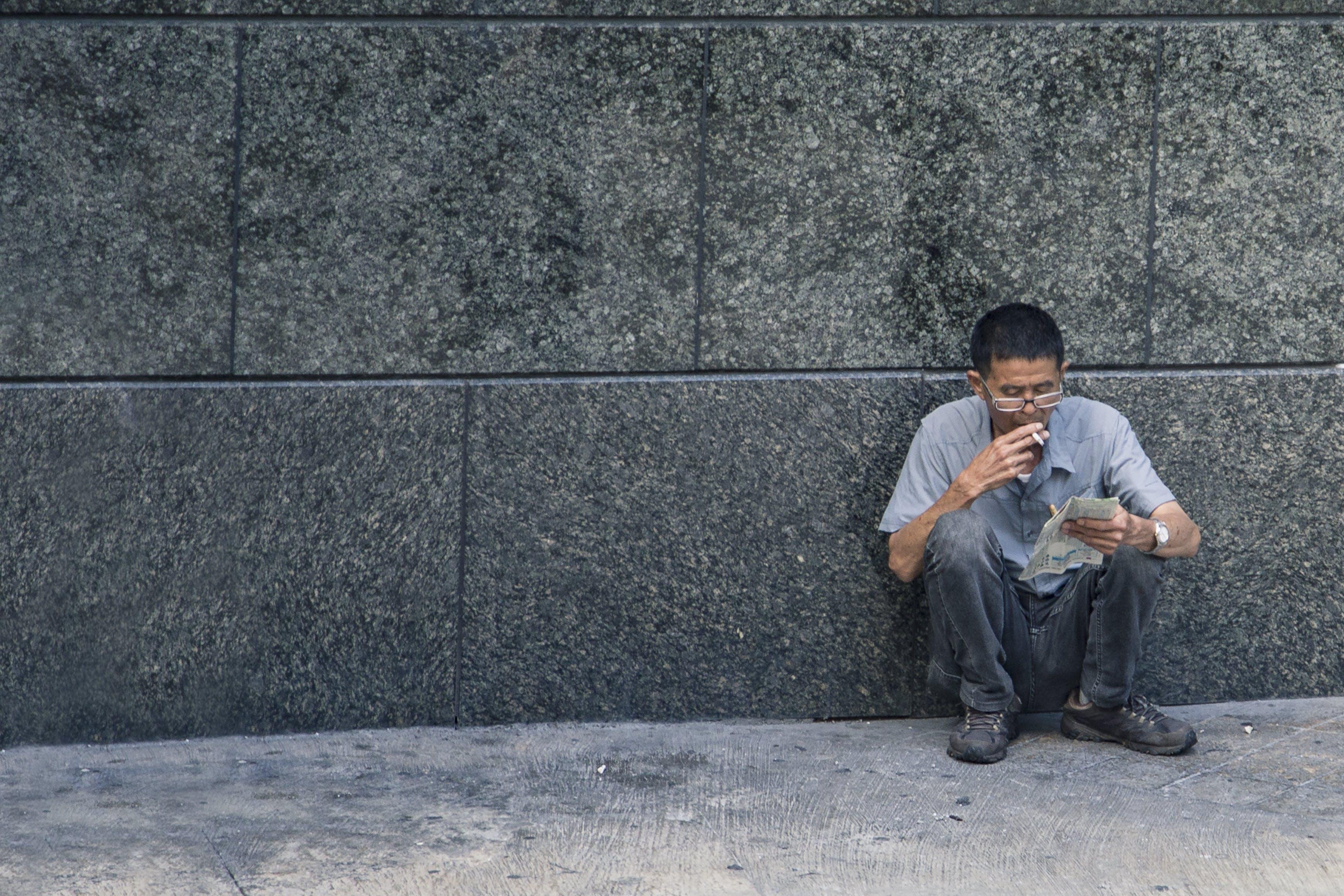 Free stock photo of hong kong, smoking, street