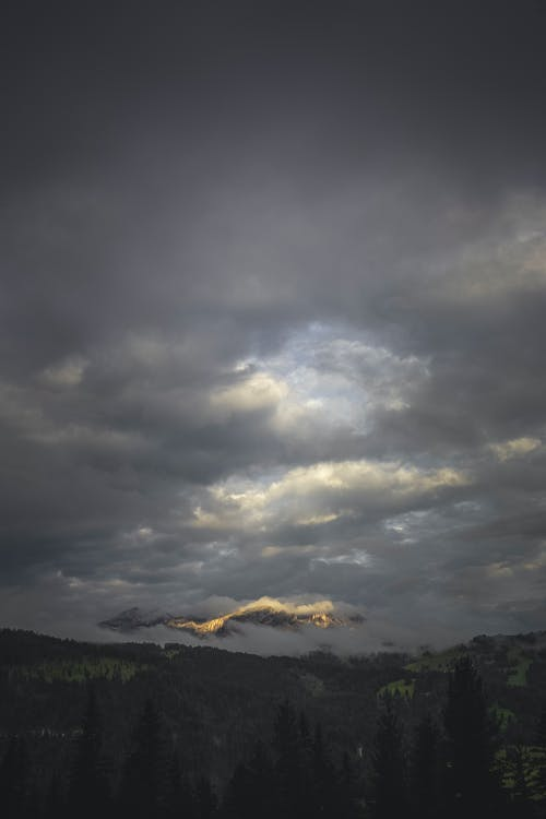 Landscape Photo of Dark Clouds