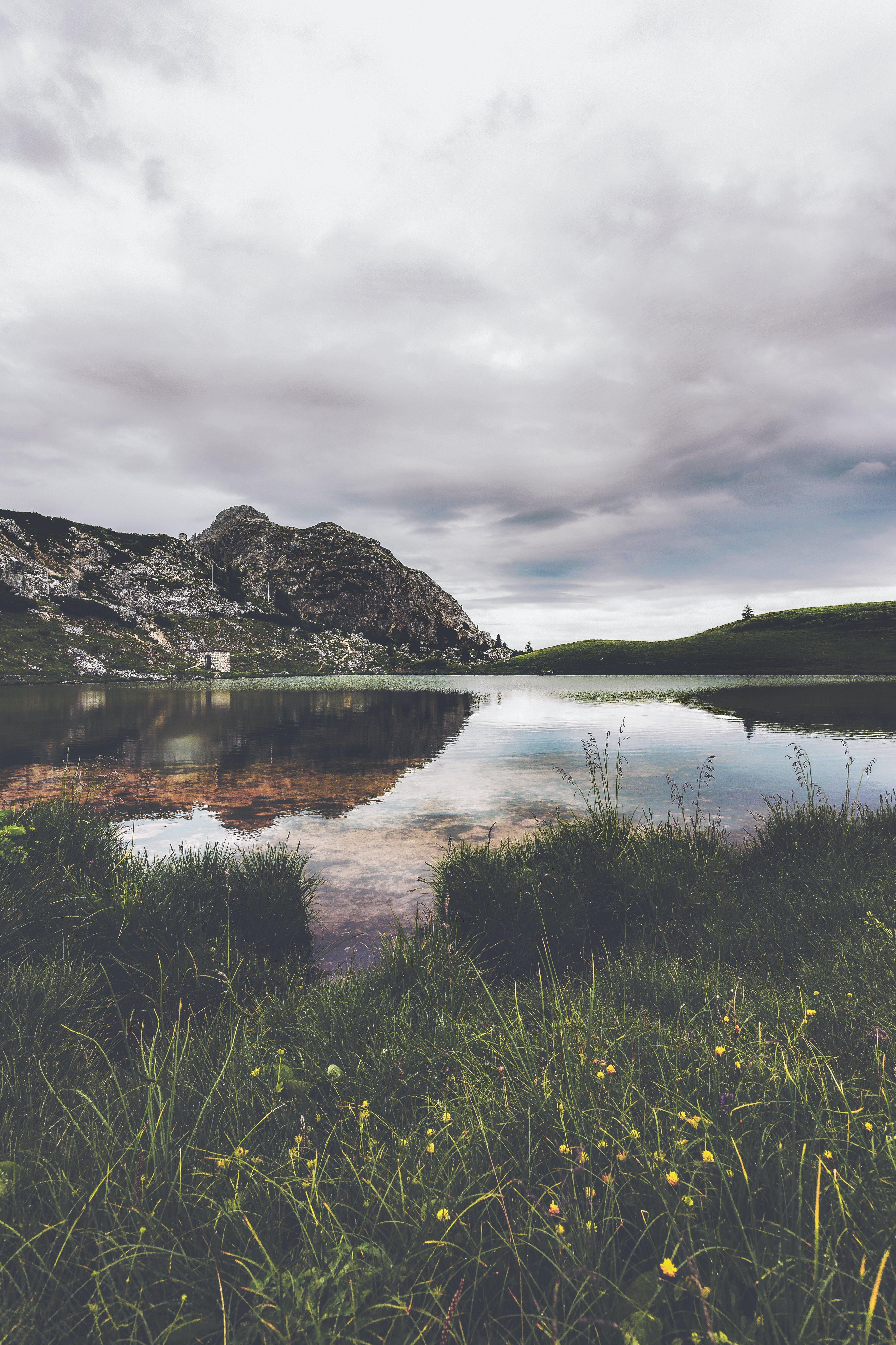 HD wallpaper с HD-обои, вода, гора, дневной свет
