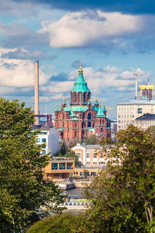 Free stock photo of cathedral, church, famous landmark, Finland
