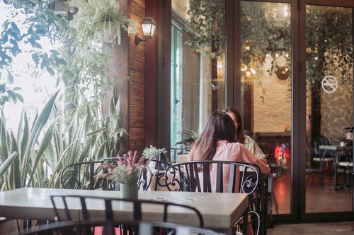 #소녀, 커피숍의 무료 스톡 사진