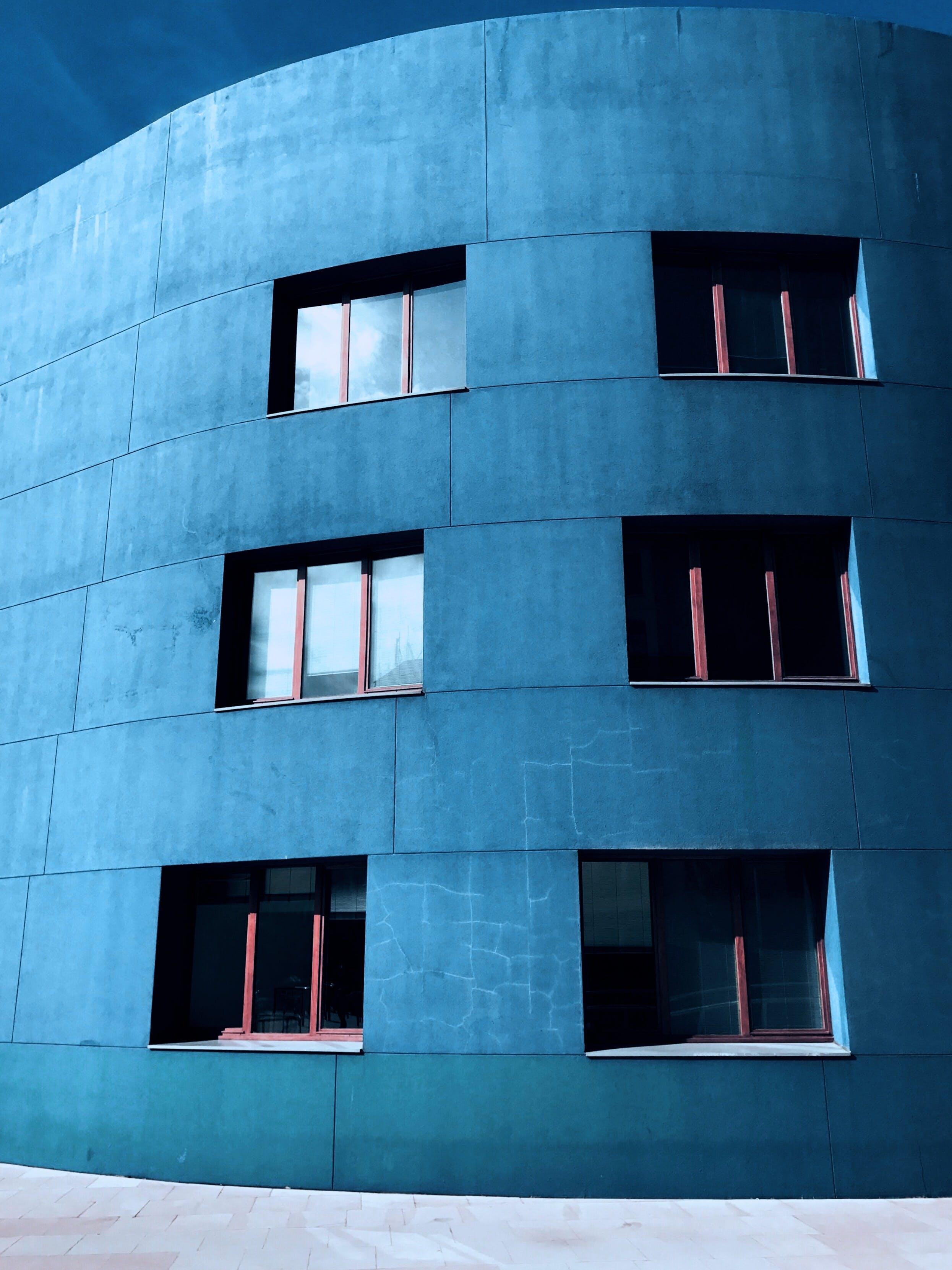 コンクリート構造, コンテンポラリー, 建物の外観, 建築の無料の写真素材