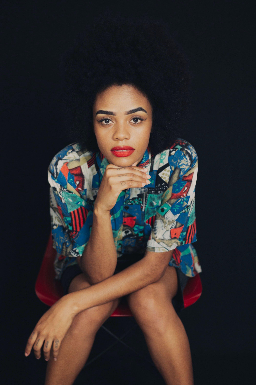 Foto stok gratis Amerika Afrika, bagus, bibir merah, dewasa
