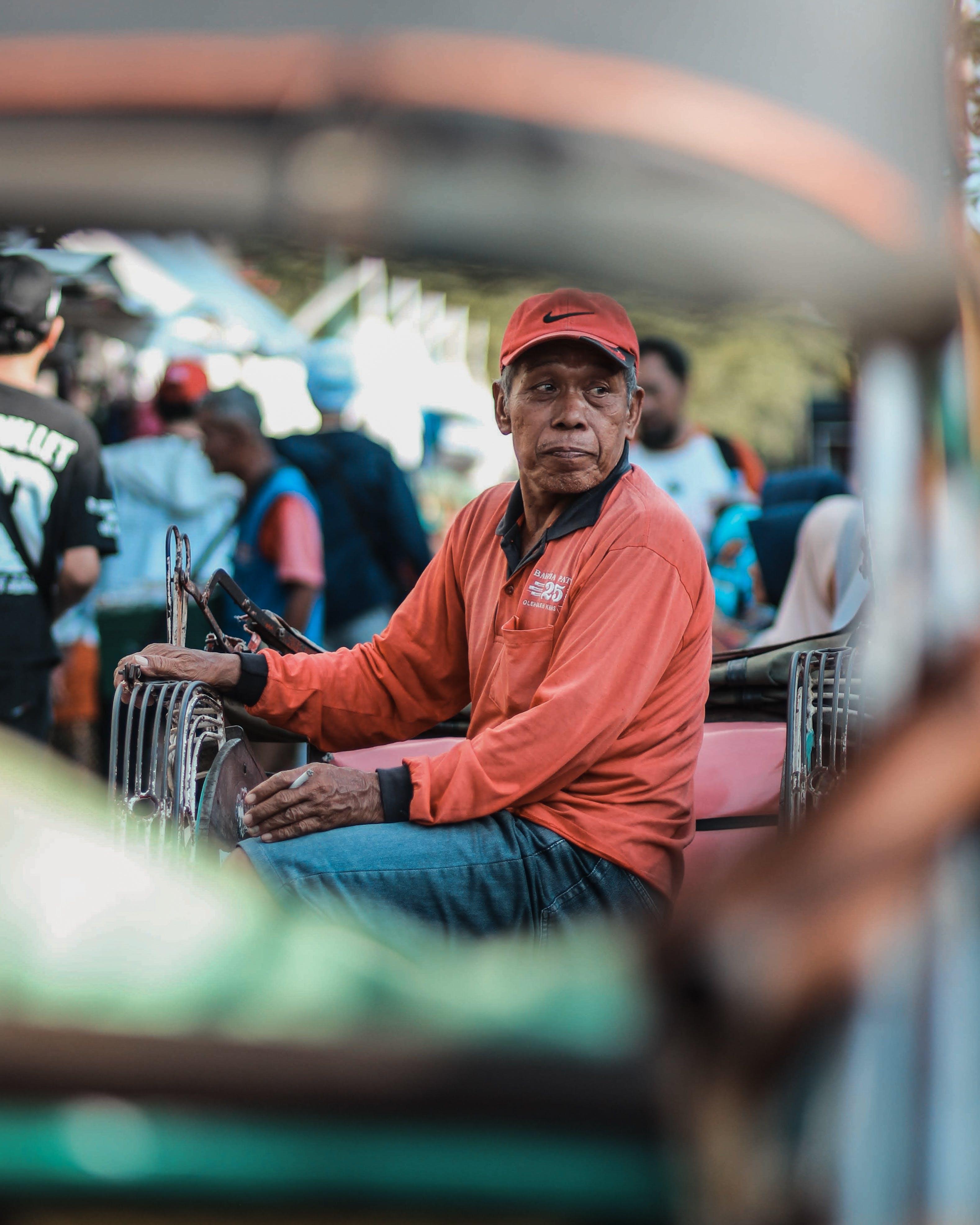 Základová fotografie zdarma na téma asiat, cigareta, dav, dospělý