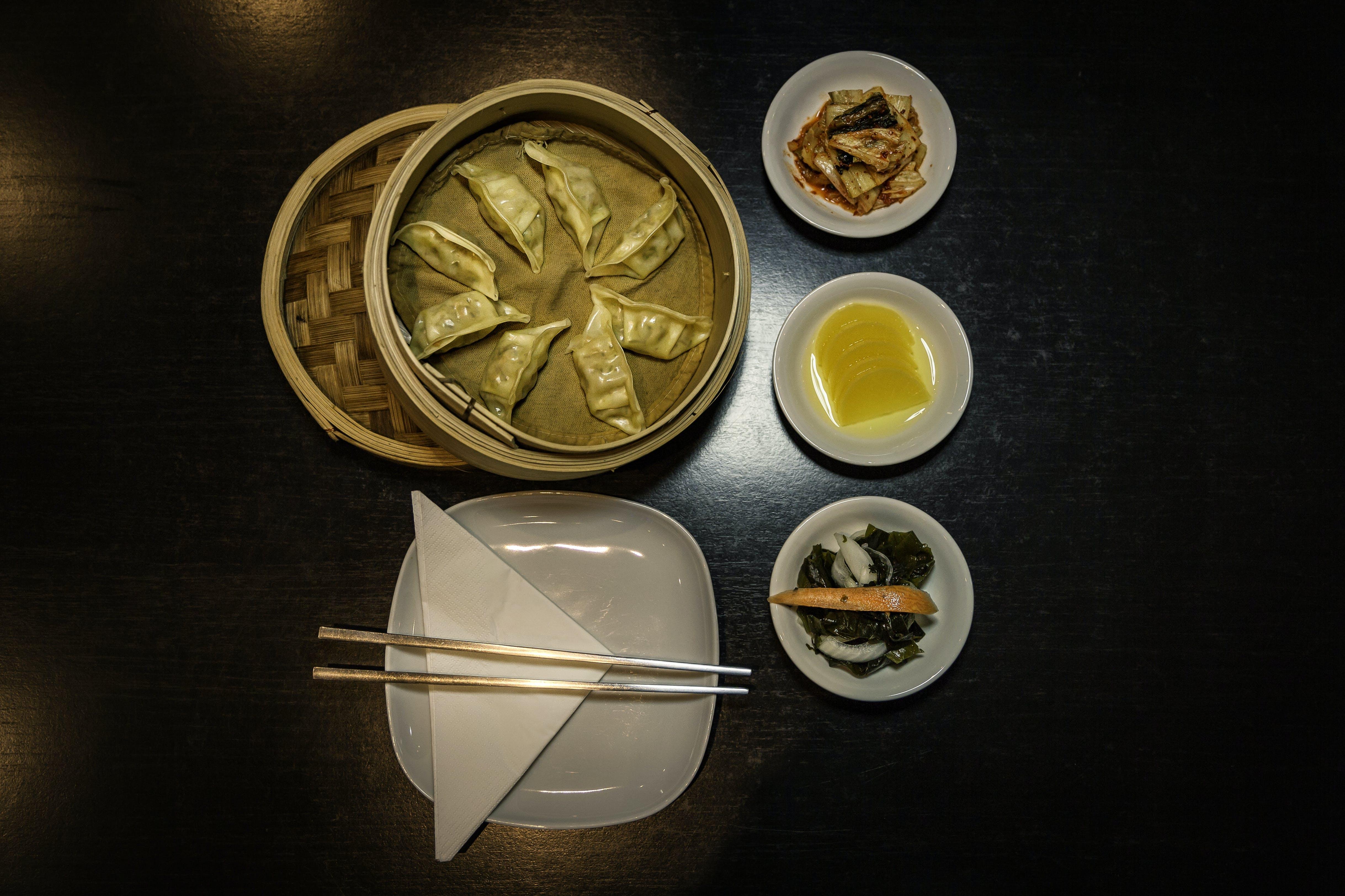 Gratis lagerfoto af bord, cuisine, delikat, dim sum