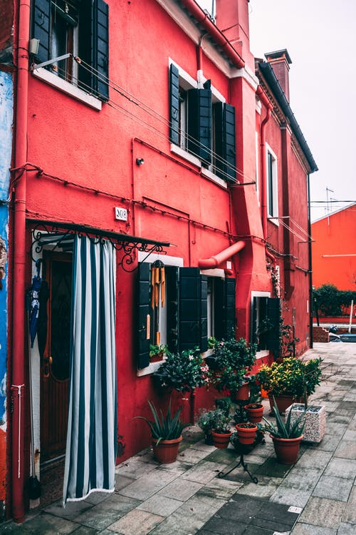 Free stock photo of building, burano, entry, gorgeous