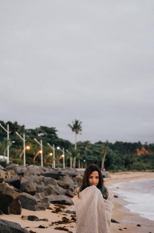 คลังภาพถ่ายฟรี ของ ชายหาด