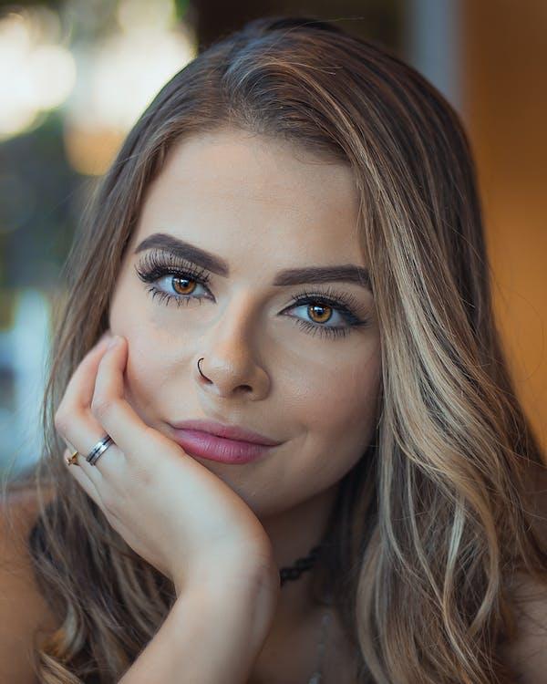 beau, beaux yeux, belle femme