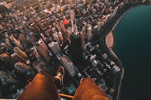 Základová fotografie zdarma na téma architektura, budovy, fotka zvysokého úhlu, letecká fotografie