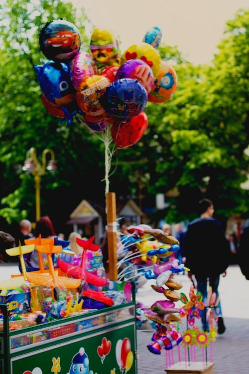 おもちゃ, 喜び, 幸福, 風船の無料の写真素材