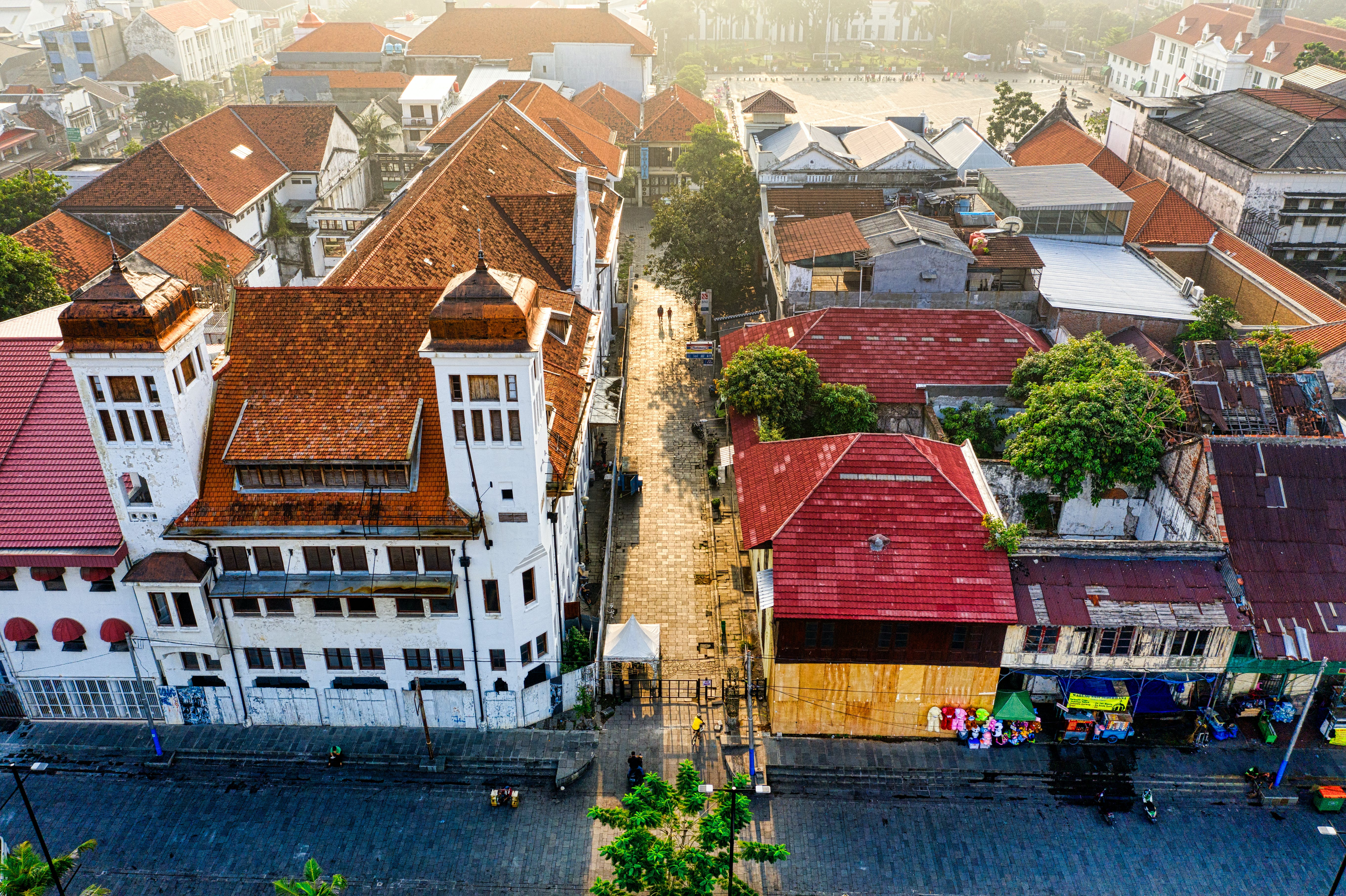 Aerial View Photo of Houses