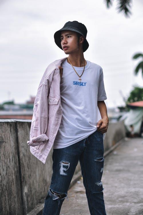 Ingyenes stockfotó ázsiai személy, divat, dzseki, életmód témában