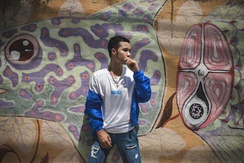 거리, 거리 착용, 그래피티, 남자의 무료 스톡 사진